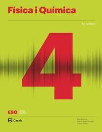 ESO 4 - FISICA I QUIMICA (BAL, CAT, C. VAL) - CODIGO ABIERTO