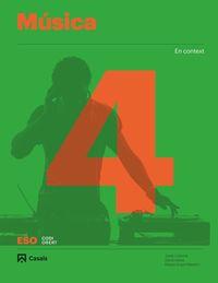 ESO 4 - MUSICA (BAL, CAT, C. VAL) - CODIGO ABIERTO