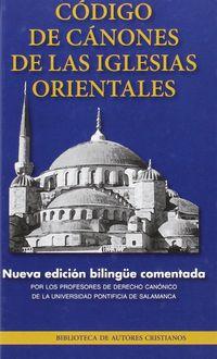 Codigo De Canones De Las Iglesias Orientales - Aa. Vv.