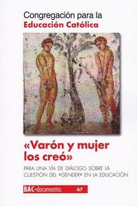 VARON Y MUJER LOS CREO