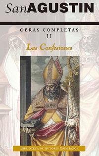 OBRAS COMPLETAS DE SAN AGUSTIN II - LAS CONFESIONES