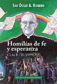 HOMILIAS DE FE Y ESPERANZA - CICLO B / II (1979)