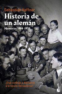 historia de un aleman - memorias 1914-1933 - Sebastian Haffner