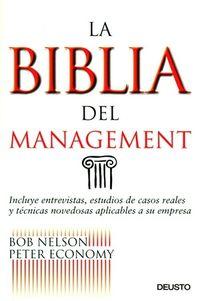 La biblia del management - Bob Nelson / Peter Economy