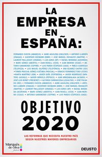 empresa en españa, la - objetivo 2020 - Alejandro Suarez Sanchez-Ocaña