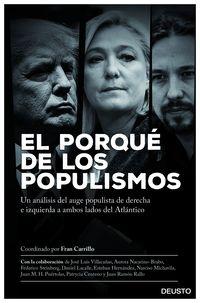 Porque De Los Populismos, El - Un Analisis Del Auge Antisistema De Derecha E Izquierda A Ambos Lados Del Atlantico - Fran Carrillo