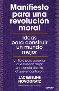 MANIFIESTO PARA UNA REVOLUCION MORAL