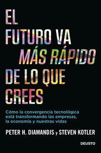 FUTURO VA MAS RAPIDO DE LO QUE CREES, EL - COMO LA CONVERGENCIA TECNOLOGICA ESTA TRANSFORMANDO LAS EMPRESAS, LA ECONOMIA Y NUESTRAS VIDAS