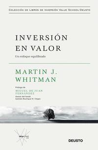 INVERSION EN VALOR - UN ENFOQUE EQUILIBRADO