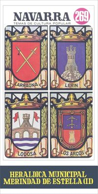 heraldica municipal - merindad de estella (ii) - Jesus Lorenzo Otazu Ripa