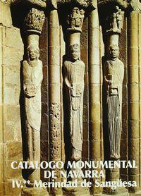 Catalogo Monumental De Navarra Iv-2 Sanguesa - M. Concepcion Garcia Gainza