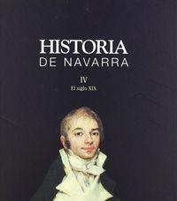 HISTORIA DE NAVARRA IV. EL SIGLO XIX