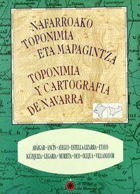 TOPONIMIA Y CARTOGRAFIA DE NAVARRA 24 - ABAIGAR, ANCIN, AYEGUI, ESTELLA, ETAYO, IGUZQUIZA, LEGARIA, MURIETA, OCO, OLEJUA, VILLAMAYOR