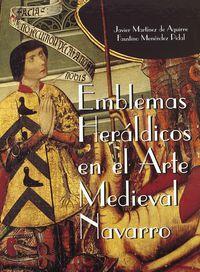 EMBLEMAS HERALDICOS EN EL ARTE MEDIEVAL NAVARRO