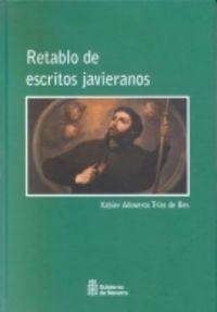 RETABLO DE ESCRITORES JAVIERANOS