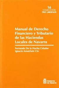 MANUAL DE DERECHO FINANCIERO Y TRIBUTARIO DE LAS HACIENDAS LOCALES