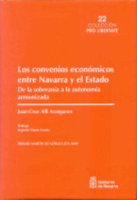 CONVENIOS ECONOMICOS ENTRE NAVARRA Y EL ESTADO