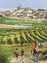 Caminos De Santiago En Navarra, Los (2ª Ed) - Roman Felones Morras