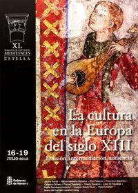 40 SEMANA ESTUDIOS MEDIEVALES - CULTURA EN LA EUROPA SIGLO X