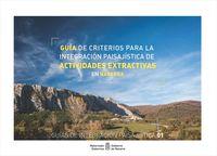 GUIA DE CRITERIOS PARA LA INTEGRACION PAISAJISTICA DE ACTIVIDADES EXTRACTIVAS EN NAVARRA