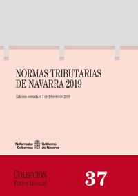 NORMAS TRIBUTARIAS DE NAVARRA 2019
