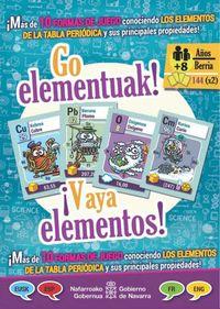¡VAYA ELEMENTOS! = GO ELEMENTUAK! (JUEGO EUS / CAST / ING / FRA)