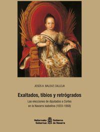 EXALTADOS, TIBIOS Y RETROGRADOS - LAS ELECCIONES DE DIPUTADOS A CORTES EN LA NAVARRA ISABELINA (1833-1868)
