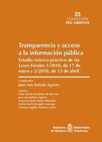 TRANSPARENCIA Y ACCESO A LA INFORMACION PUBLICA