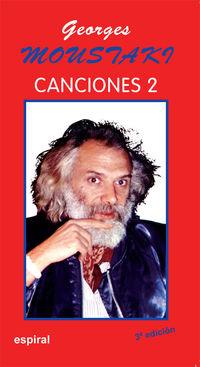 CANCIONES II DE GEORGES MOUSTAKI