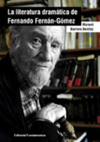 LITERATURA DRAMATICA DE FERNANDO FERNAN GOMEZ