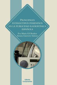 PRINCIPALES ESTEREOTIPOS EN LA PUBLICIDAD RADIOFONICA EN ESPAÑA