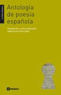 antologia de poesia española - Aa. Vv.