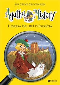 agatha mistery 3 - l'espasa del rei d'escocia - Sir Steve Stevenson / Stefano Turconi (il. )
