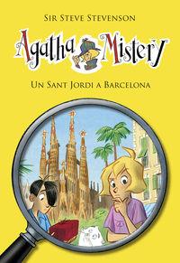 agatha mistery 26 - un sant jordi a barcelona - Sir Steve Stevenson / Stefano Turconi (il. )