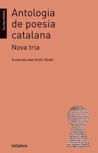 NOVA ANTOLOGIA POESIA CATALANA