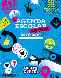 L'AGENDA ESCOLAR MES SEMANA (2018-2019) - ADOLESCENTS. CAT