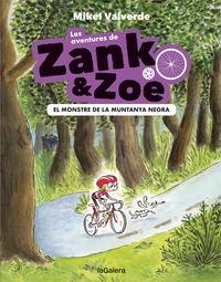 AVENTURES DE ZANK I ZOE, LES 1 - EL MONSTRE DE LA MUNTANYA NEGRA