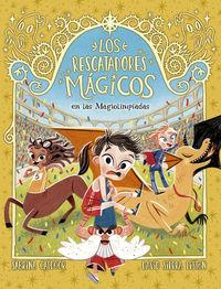 RESCATADORES MAGICOS, LOS 7 - EN LAS MAGIOLIMPIADAS