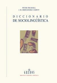Dicc. De Sociolinguistica (rust. ) - J. M. Hernandez Campoy / Peter Trudgill