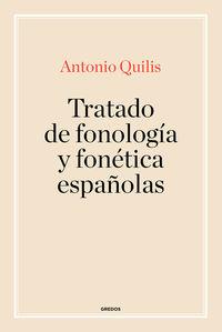 TRATADO FONOLOGIA Y FONETICA ESPAÑOLAS