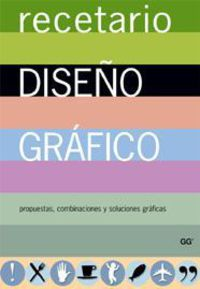 RECETARIO DE DISEÑO GRAFICO