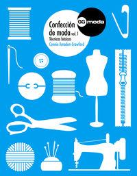 CONFECCION DE MODA 1 - TECNICAS BASICAS