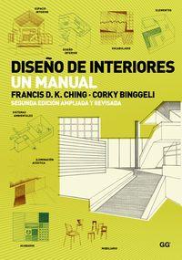 DISEÑO DE INTERIORES - UN MANUAL