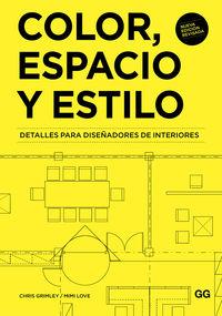 COLOR, ESPACIO Y ESTILO - DETALLES PARA DISEÑADORES DE INTERIORES
