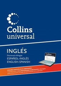 DICC. COLLINS UNIVERSAL ESP / ING - ENG / SPA (+CD-ROM)
