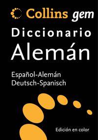 DICC. COLLINS GEM ESP / ALE - DEU / SPA