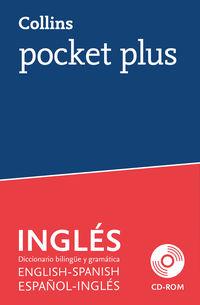 Diccionario Pocket Plus English / Spanish - Español / Ingles (+cd-Rom) - Aa. Vv.