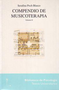 Compendio De Musicoterapia Vol. Ii - Serafina Poch Blasco