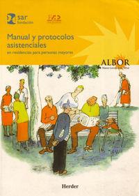 Manual Y Protocolos Asistenciales Residencias Para Personas Mayores - Aa. Vv.
