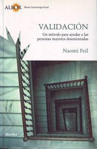 VALIDACION - UN METODO PARA AYUDAR A LAS PERSONAS MAYORES